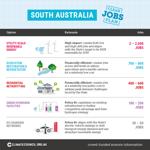 image of Back the Clean Jobs Plan SA